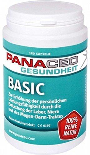 Panaceo Basic Detox Kapseln 180St. - 1
