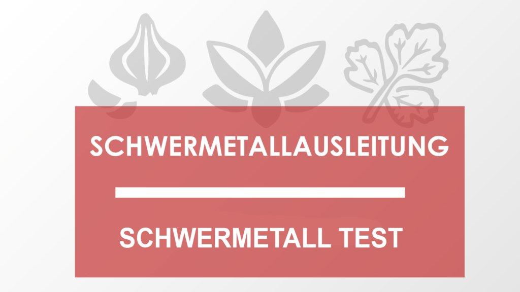 Schwermetall Test