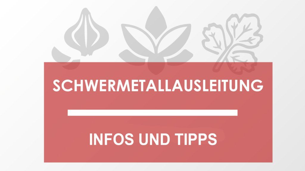 Schwermetallausleitung Info und Tipps